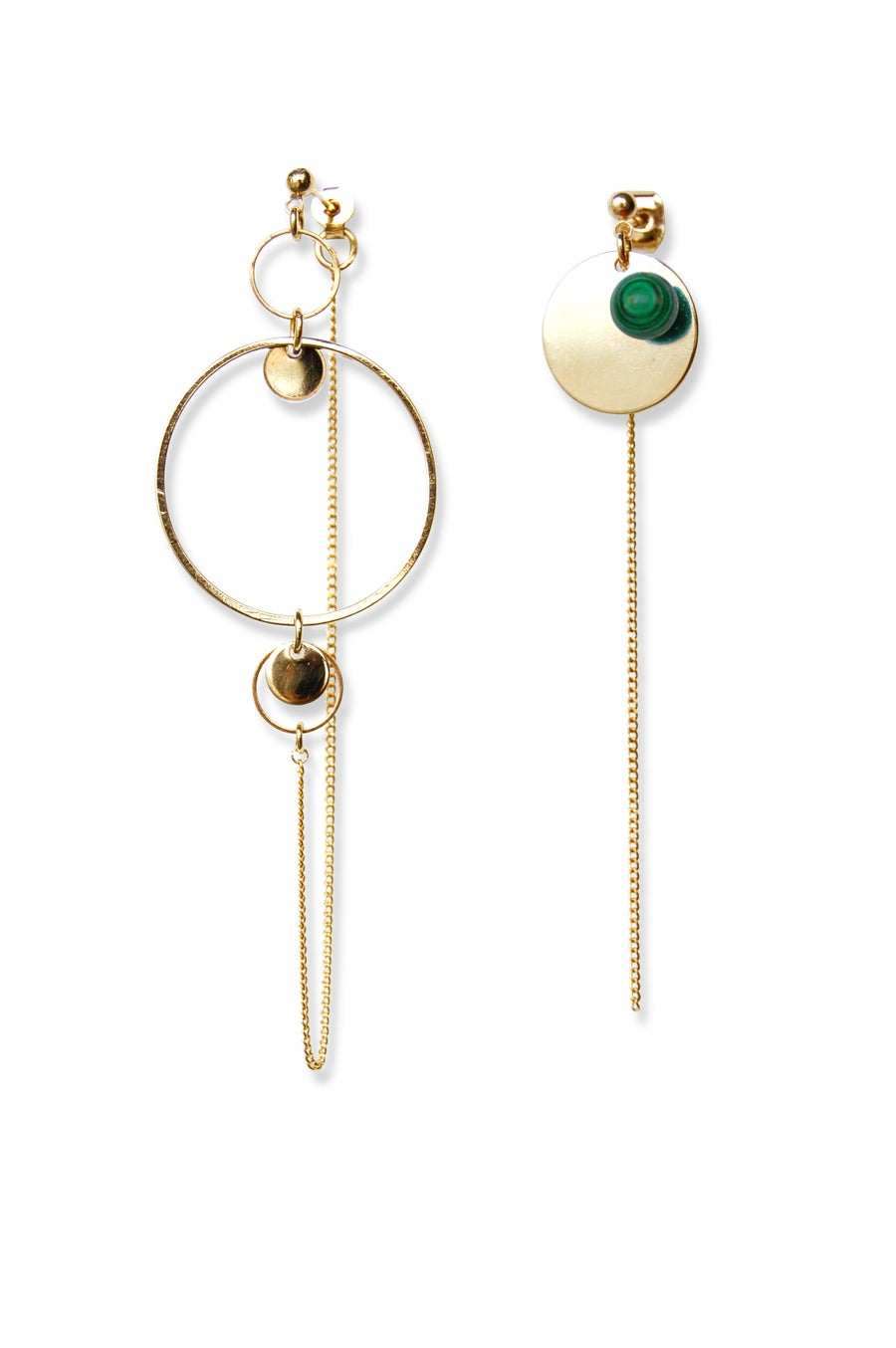 Image of Boucles d'oreilles BUBBLE CERCLE
