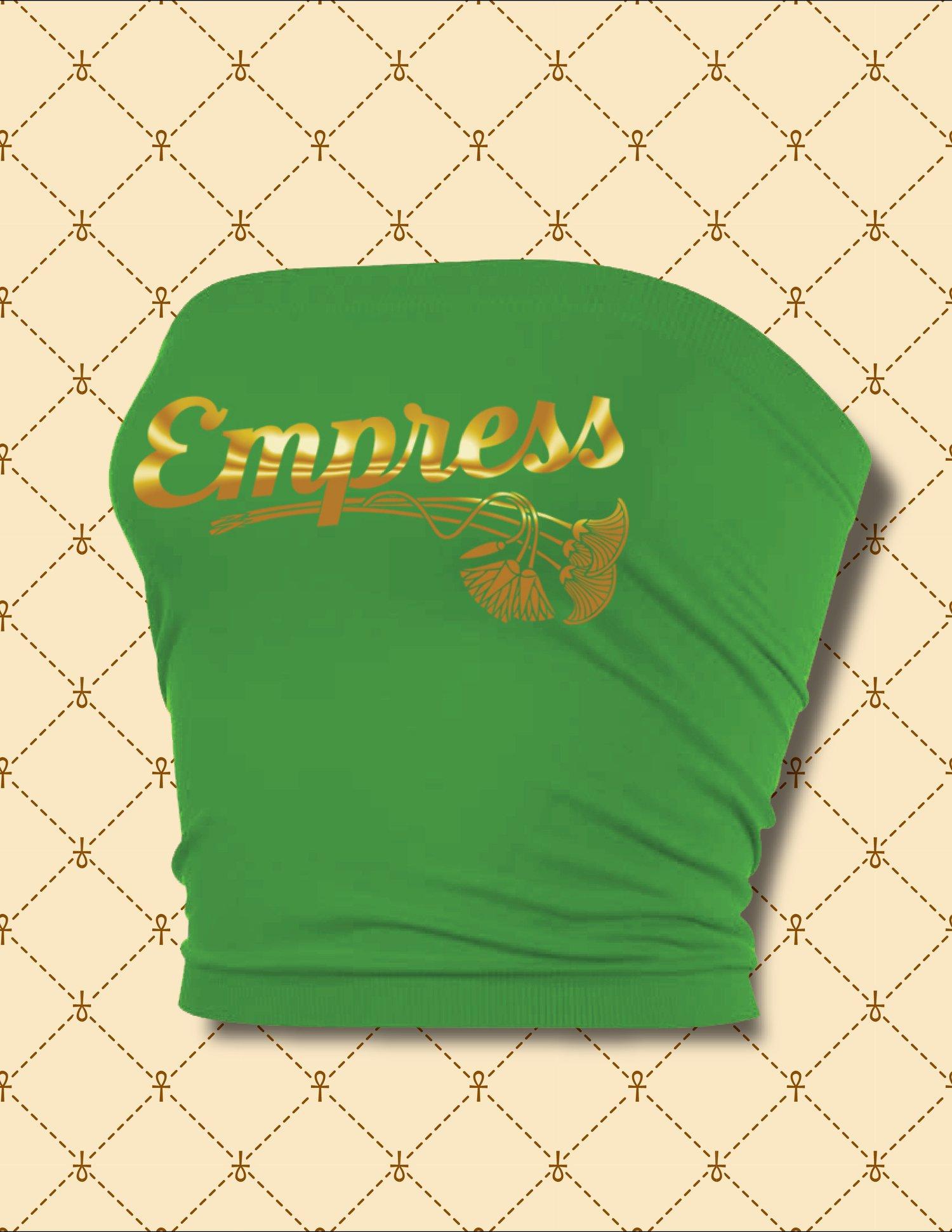 Image of NASIRAH SAHAR COLLECTION® Empress Tube Top