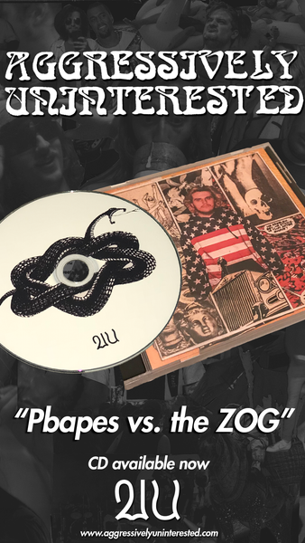 Image of Pbapes vs the ZOG CD