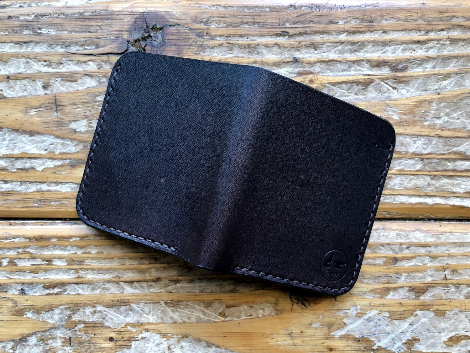 """Image of """"The Enduring"""" Bi-Fold Wallet with Cash Slot and Four Card Slots"""