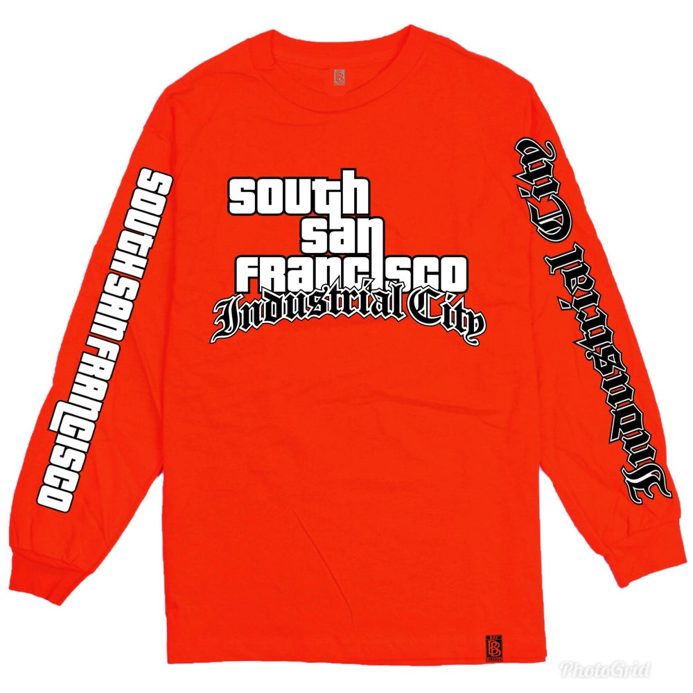 Image of Industrial City GTA Long Sleeve (Red)
