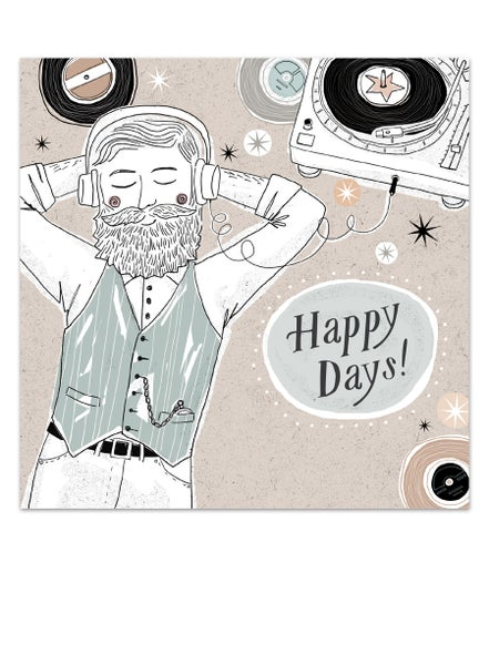 Image of Happy Days Card