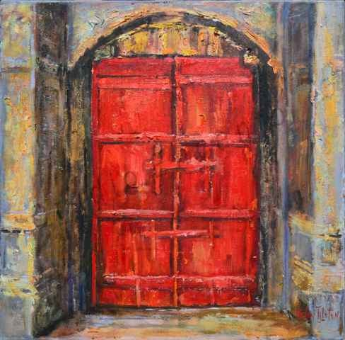 Image of Venice Door by Helen Tilston