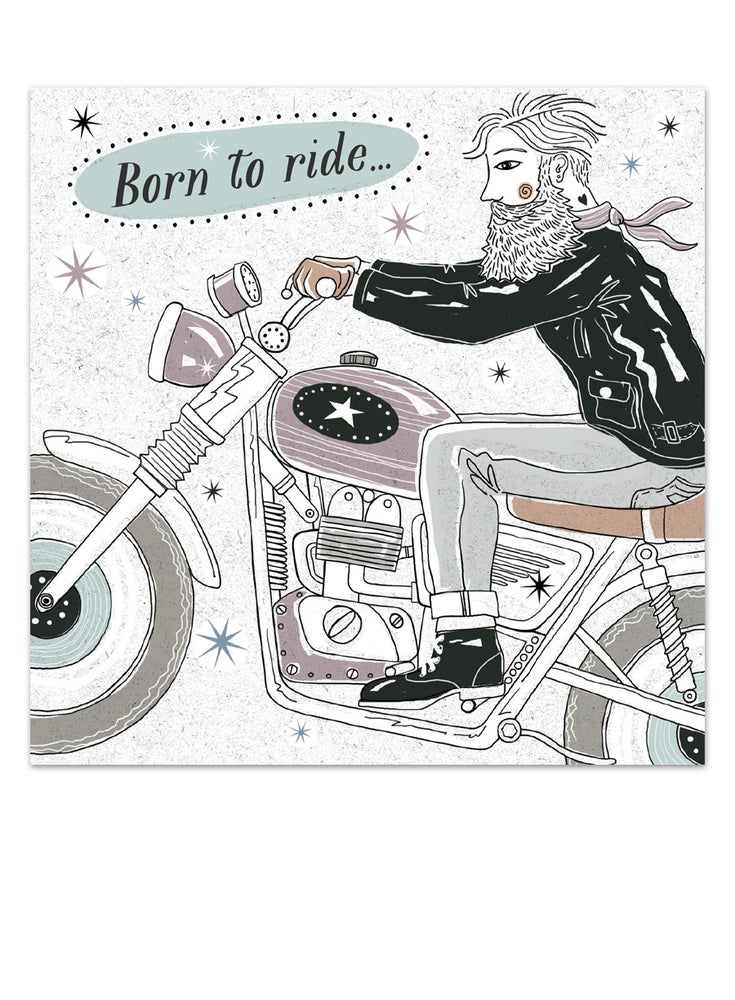 Image of Born to Ride Card