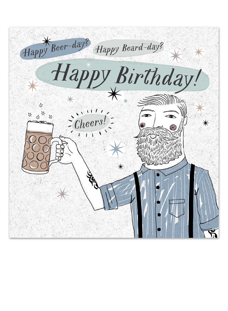 Image of Birthday Cheers Card
