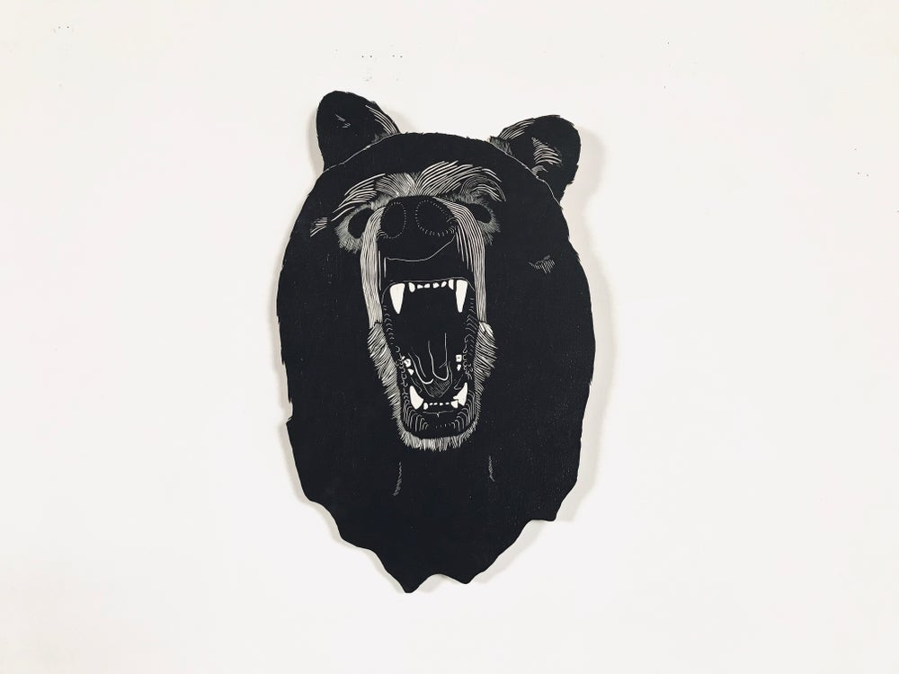 Image of Mary's Grizzly Bear Head
