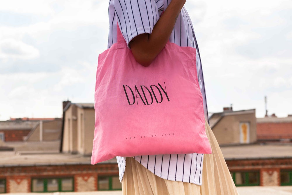Image of DADDY tote bag