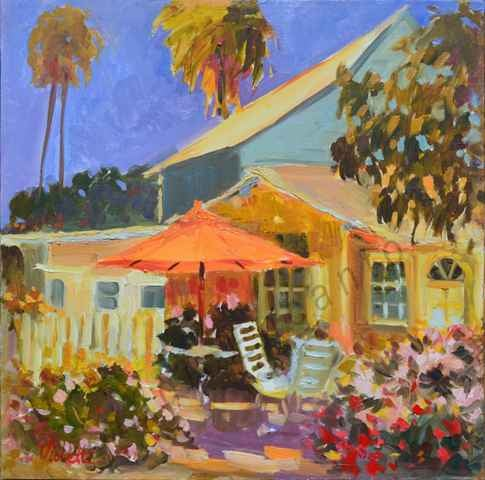 Image of Seaside Cottage by Violetta Chandler