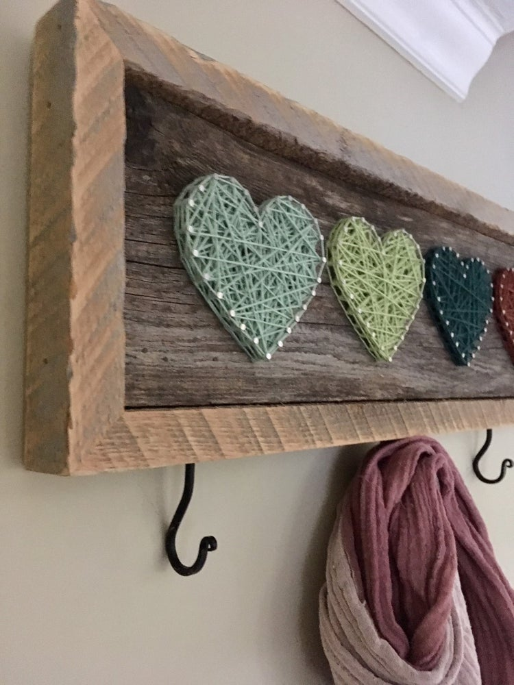 Image of Heart hangers