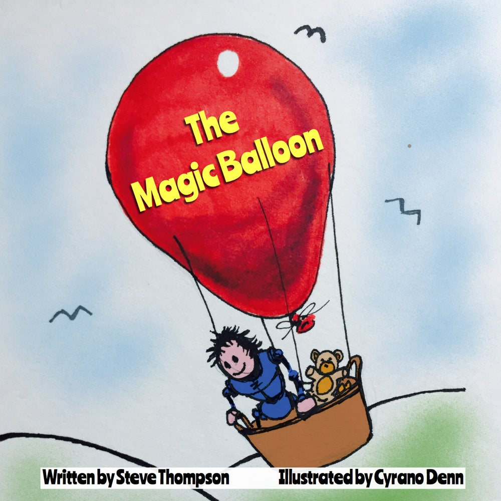 Image of The Magic Balloon children's bedtime story book