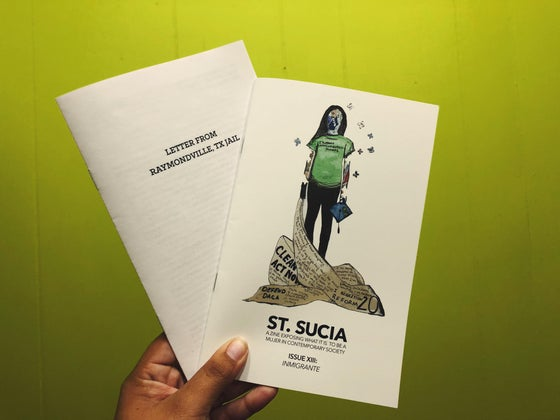 Image of St. Sucia Issue XIII: Inmigrante
