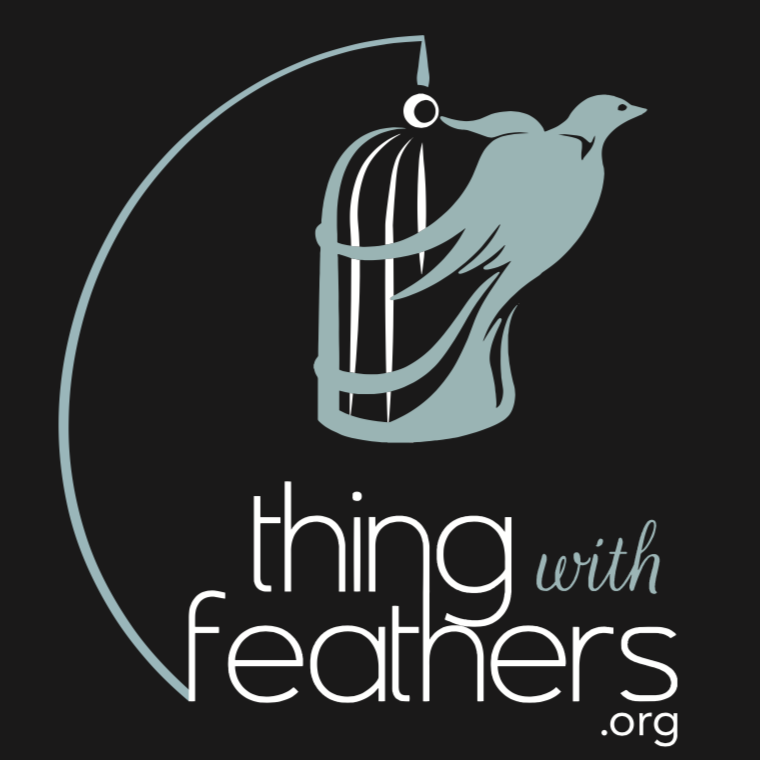Image of Thing With Feathers Logo Sticker