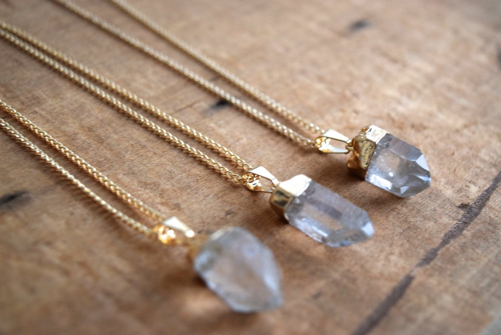 Image of The Crystal Quartz necklace