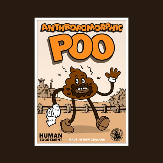 Image of Anthropomorphic Poo - Art Toy