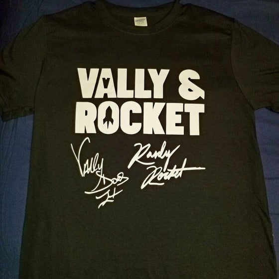 Image of Black Vally & Rocket Autograph Tee