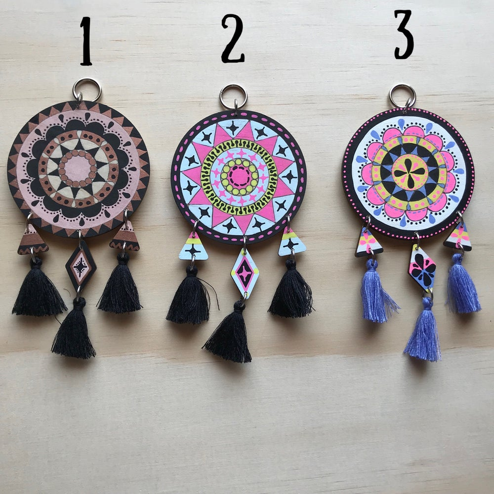Image of Mini Mandala TASSEL Charms