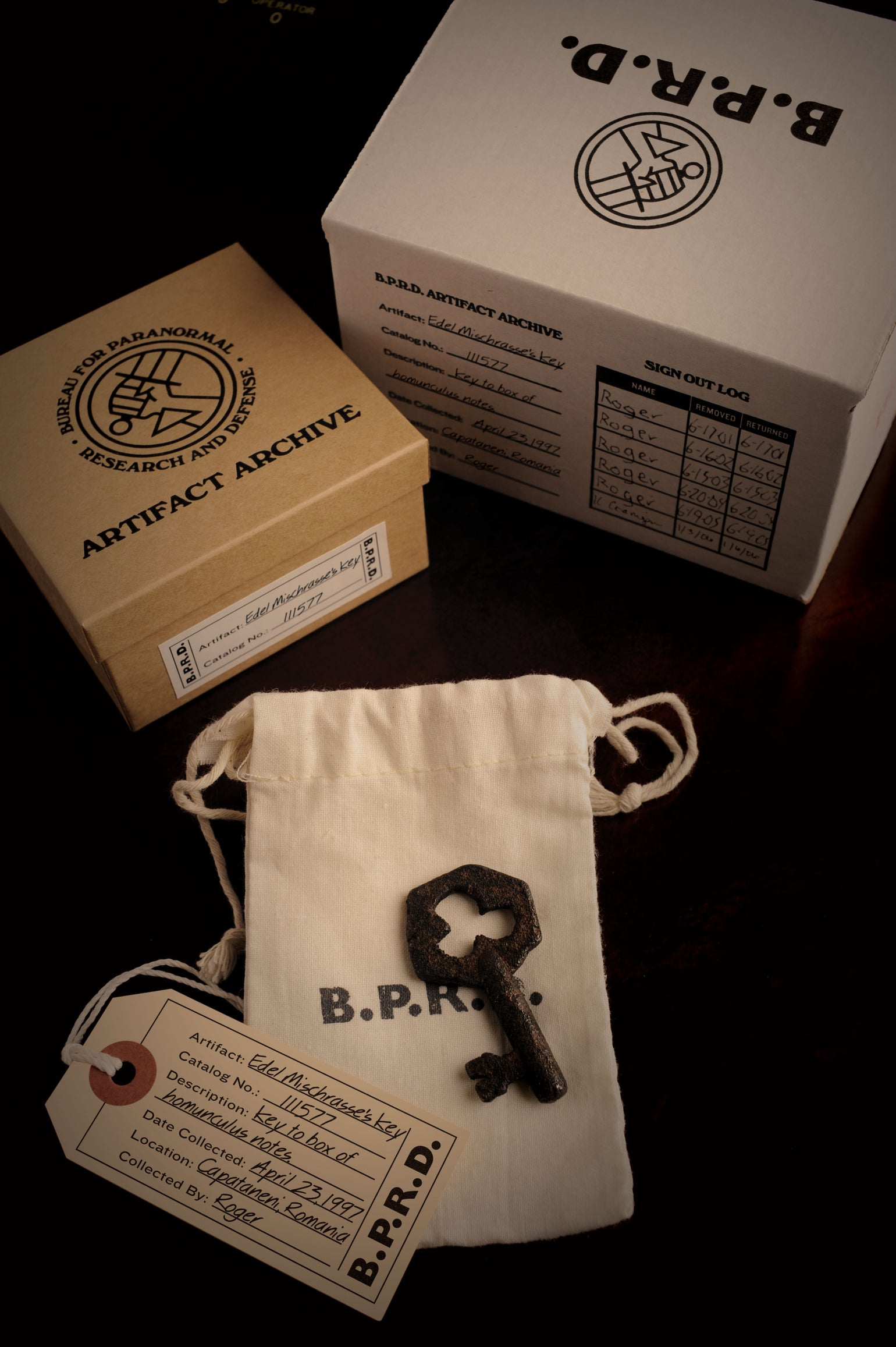 Image of Hellboy/B.P.R.D.: Limited Edition Edel Mischrasse's Key! - TEMPORARILY SOLD OUT