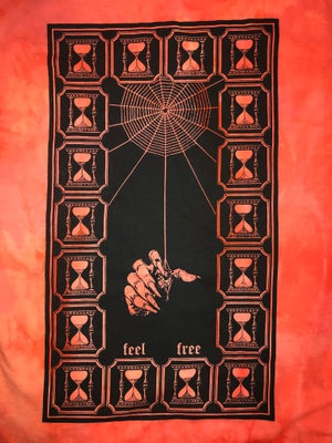 Image of Sorcerer Long Sleeve Shirt In Orange