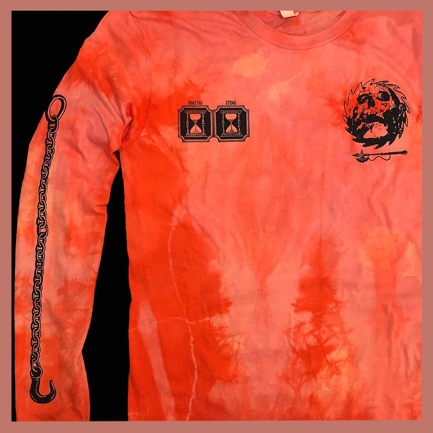 Image of Sorcerer Long Sleeve Shirt In Orange