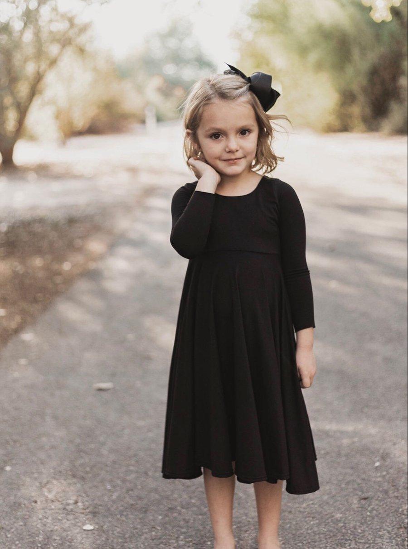Image of Baby/Girls • Basic Black • Twirly