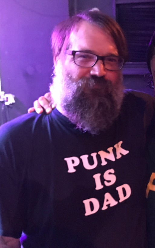 Image of Punk is Dad T Shirt