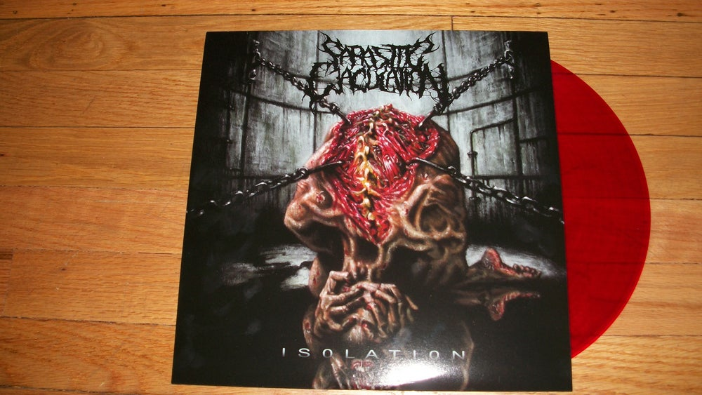 Image of PARASITIC EJACULATION VINYL RECORD (IN STOCK)