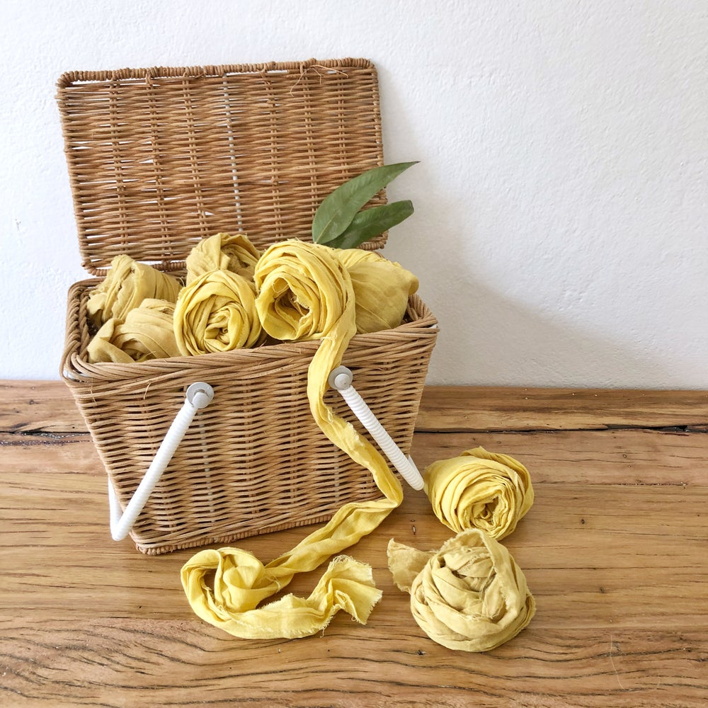 Image of Madeline's Mustard Ribbon 1.9m