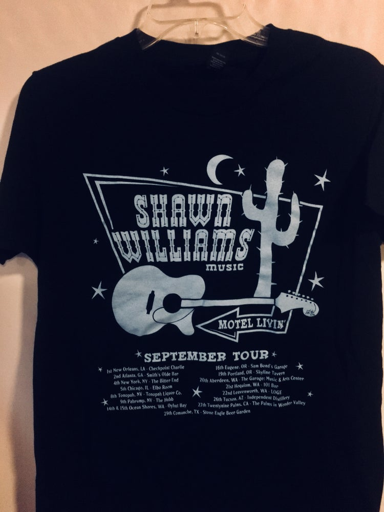 Image of September Motel Livin' Limited EdiShawn Tour Shirt