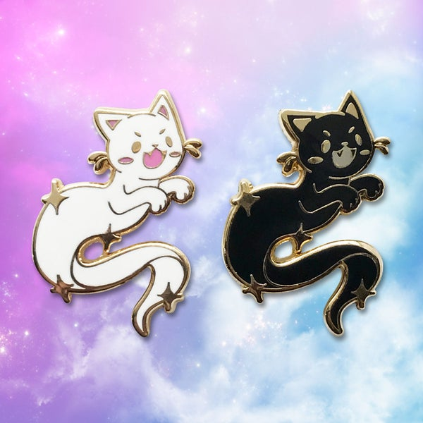 Image of Ghost Kitties Hard Enamel Pin