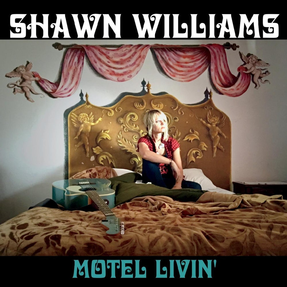 "Image of Shawn Williams ""Motel Livin'"" physical CD"