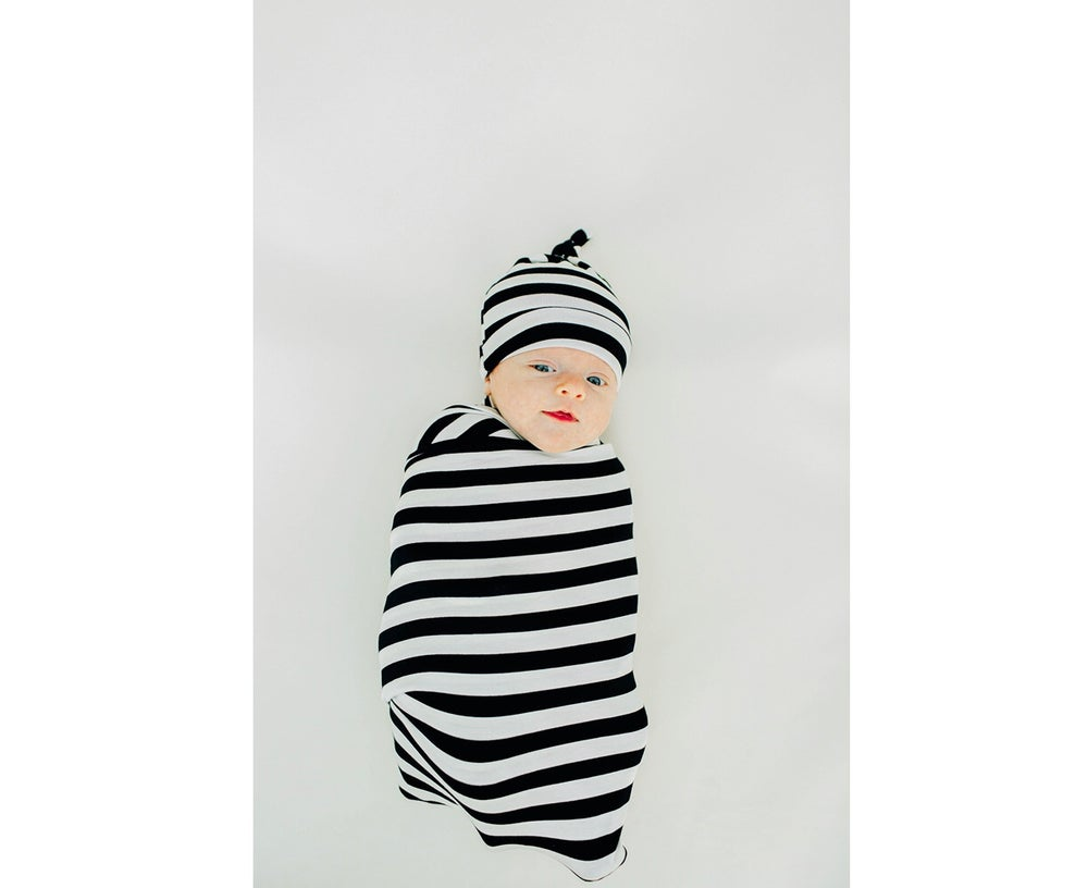 Image of *NEW Classic Stripes Swaddle Set