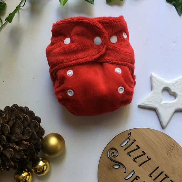 Image of Red Christmas Minky