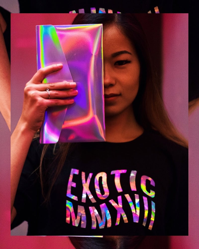 Image of Holographic Swerve Tee