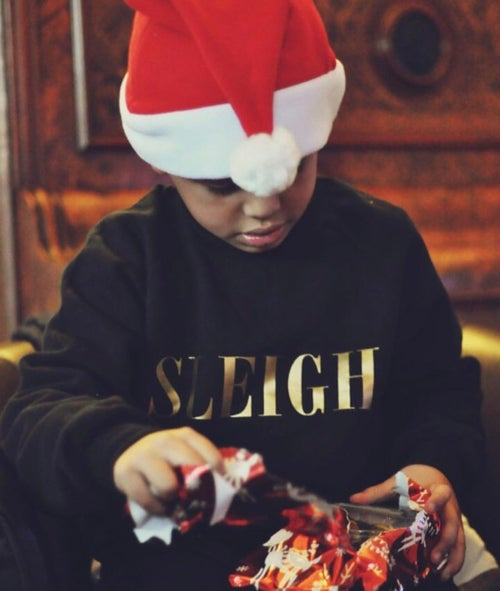 Image of Sleigh Sweater (Adult & Kids)