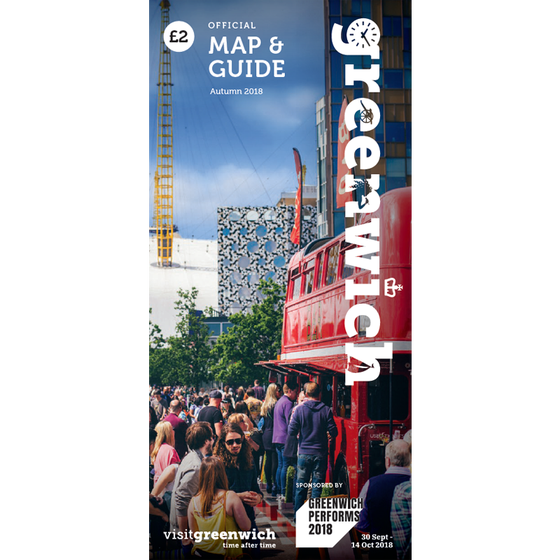Image of Greenwich Map & Guide: October - December 2018