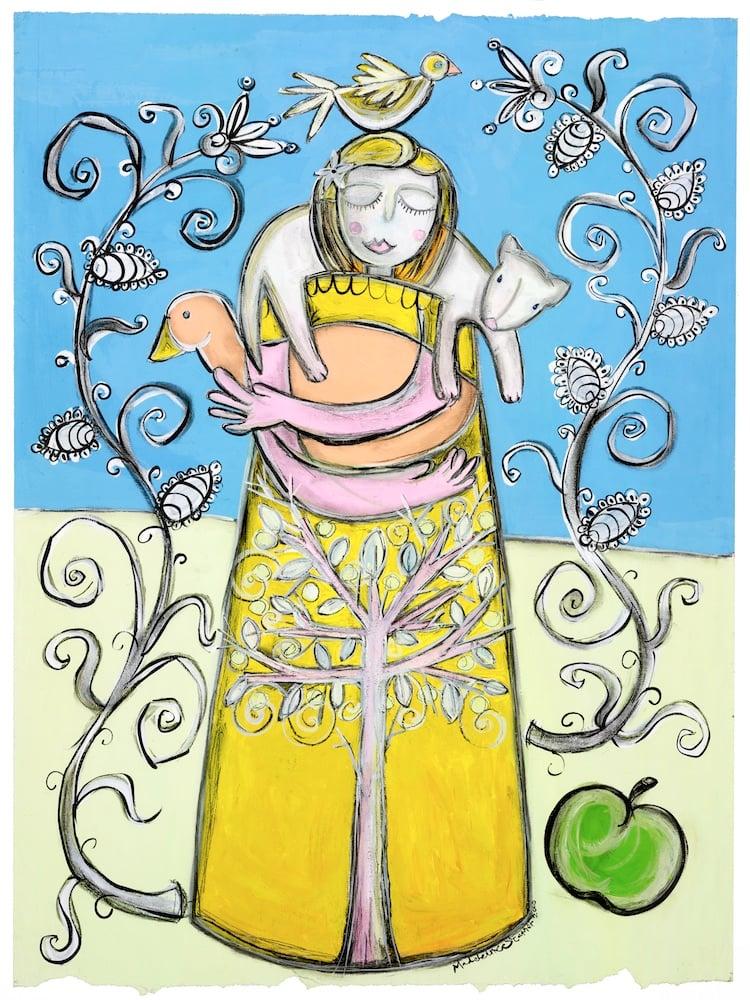 Image of Yellow Girl