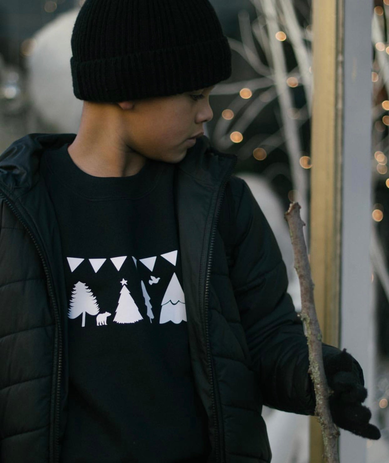 Image of Winter Wonderland Sweater & Tee