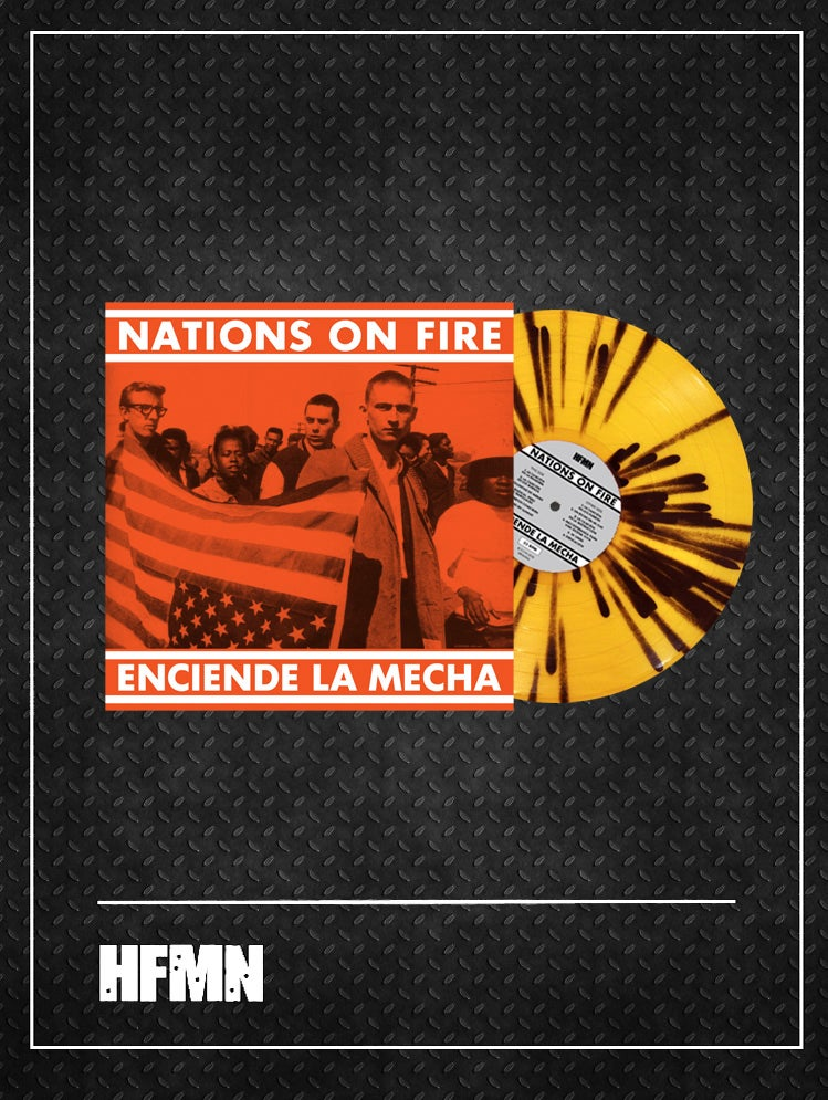 Image of NATIONS ON FIRE - ENCIENDE LA MECHA (Strike the Match - Reissue)