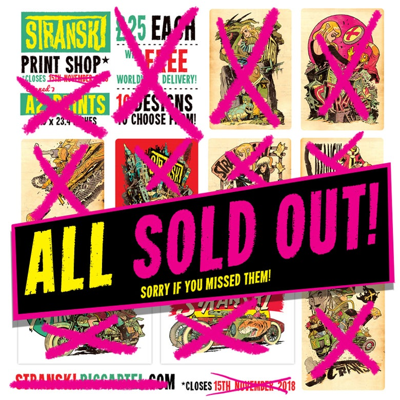 Image of All prints now sold out, sorry!