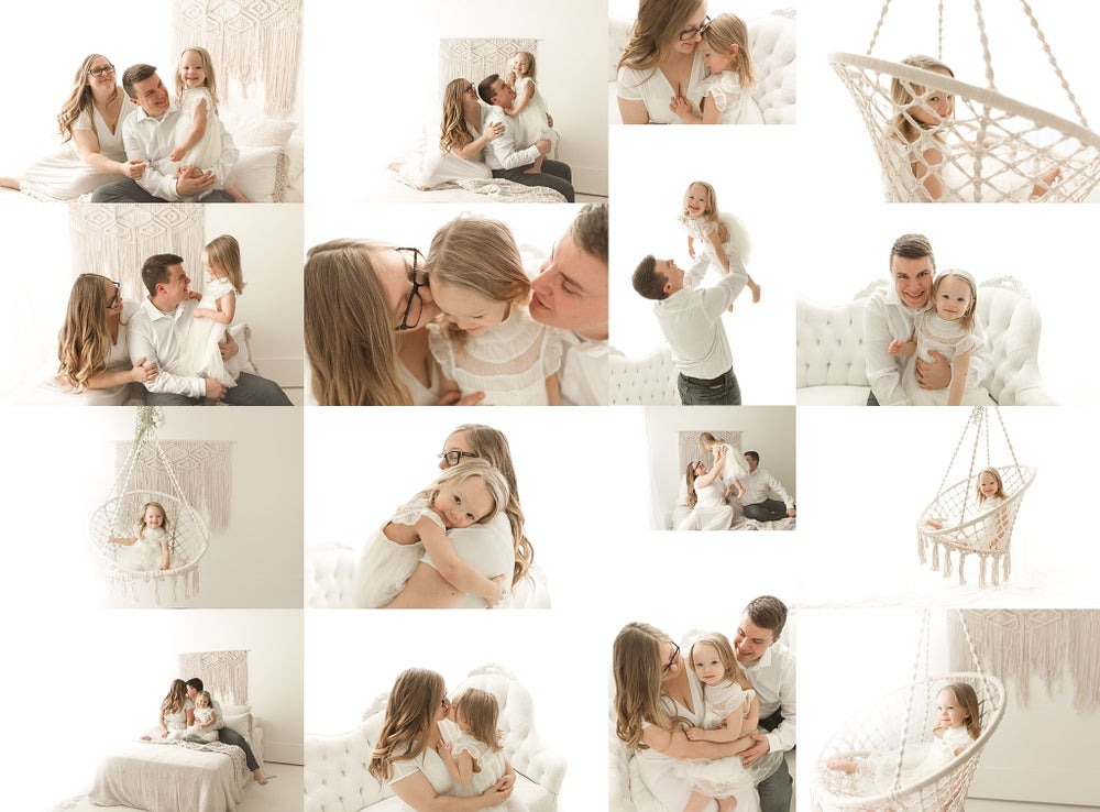 Image of In-Studio Family Mini Sessions - Paid in Full - $425
