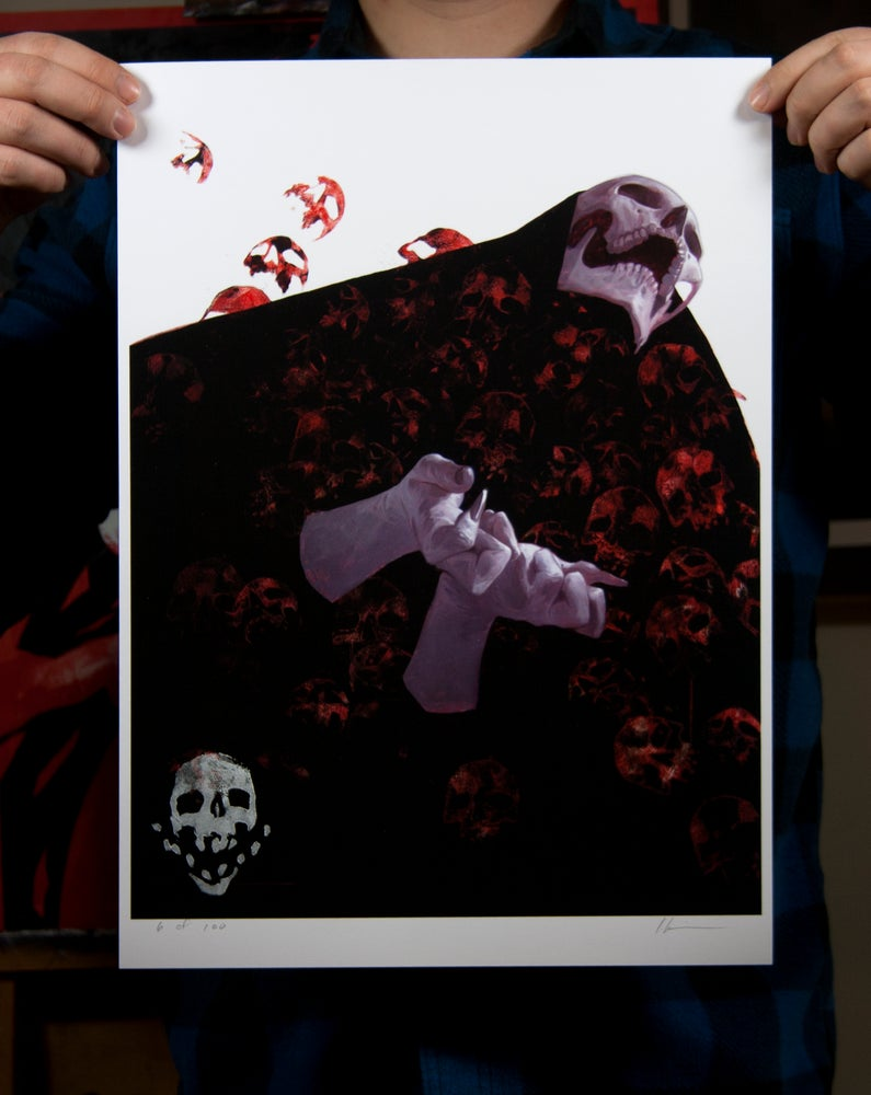 Image of I Am Become Death Limited Edition Print