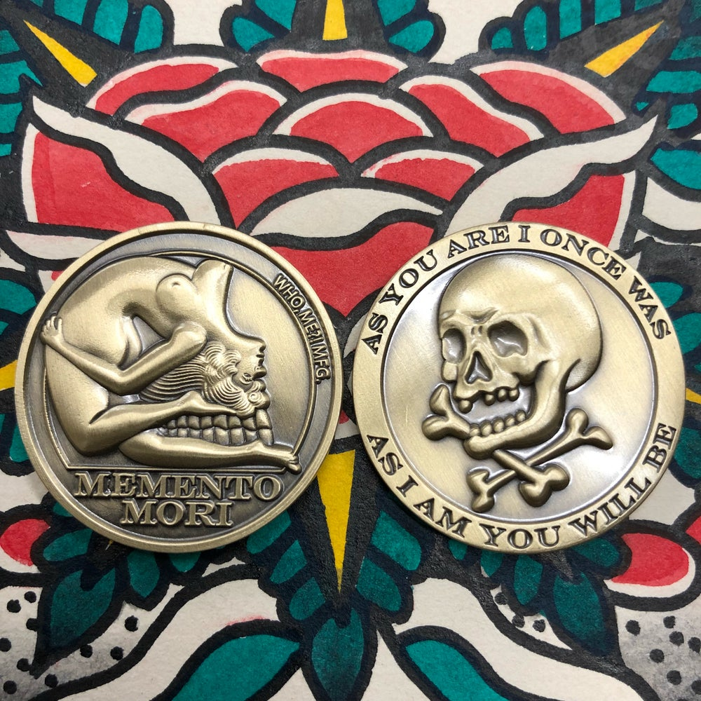 Image of MEMENTO MORI COLLECTORS COIN