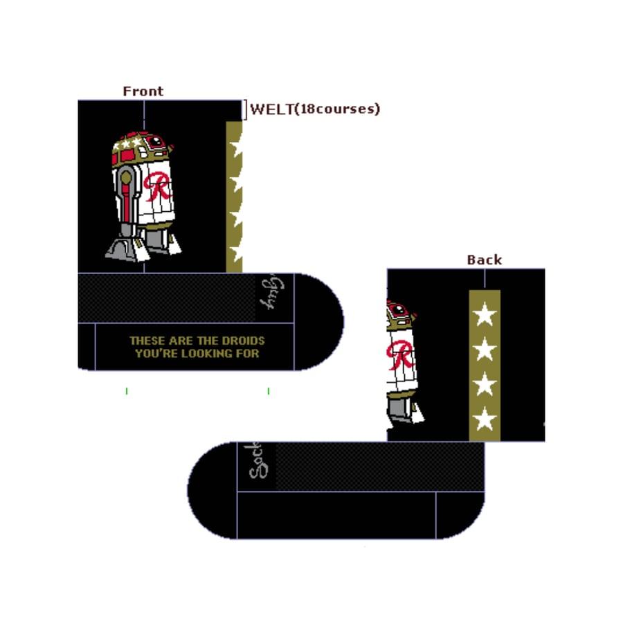 Image of Rainier2D2 Socks
