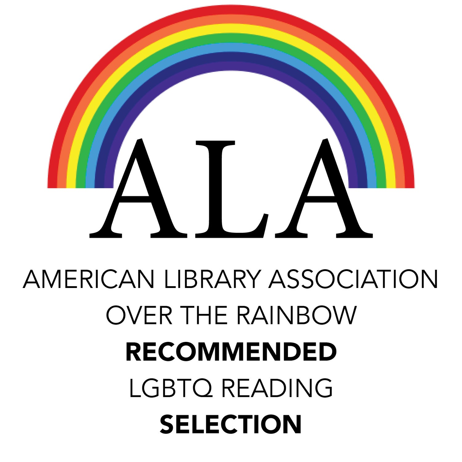 Image of ALA Over the Rainbow Title! The God of Longing by Brent Calderwood