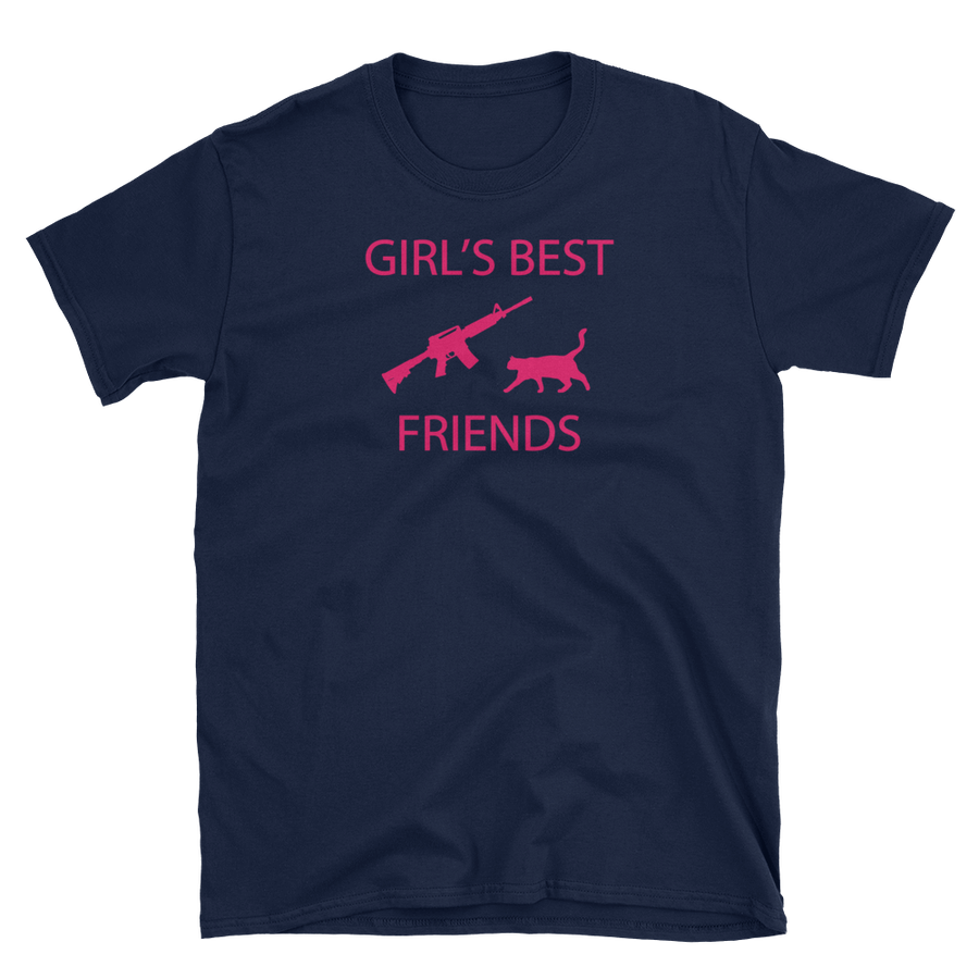 Image of GIRL'S BEST FRIENDS WOMEN'S T SHIRT