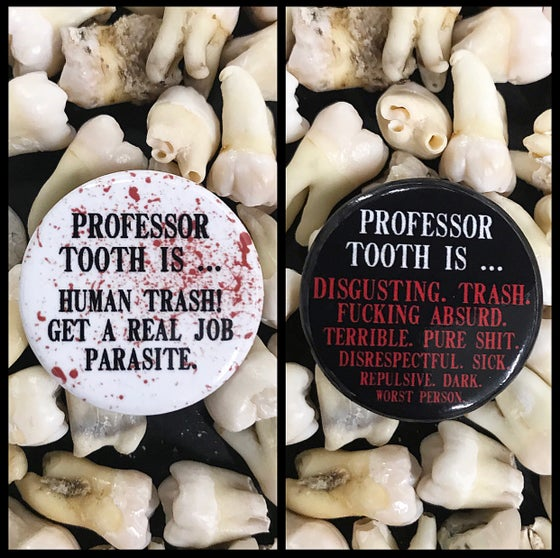 Image of Professor Tooth's Review Button Pack