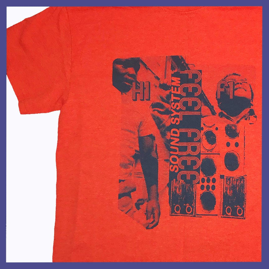 Image of Feel Free Hi Fi T-Shirt by Midwest Pressed