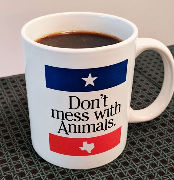Image of DON'T MESS WITH ANIMALS mug