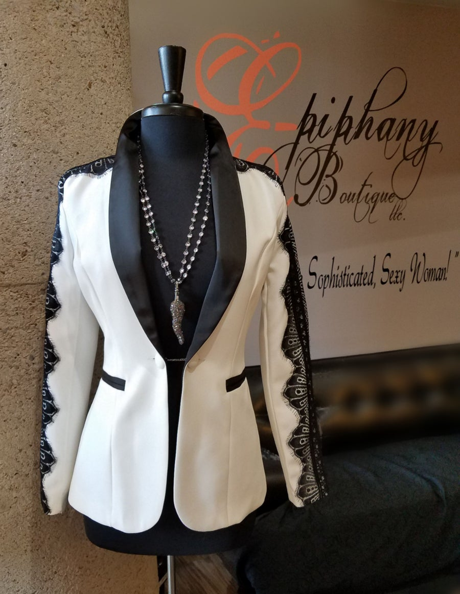 Image of The Michael Lace Blazer