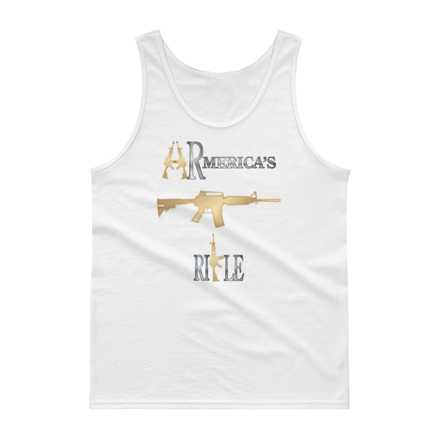 Image of ARMERICA'S RIFLE MEN'S TANK TOP